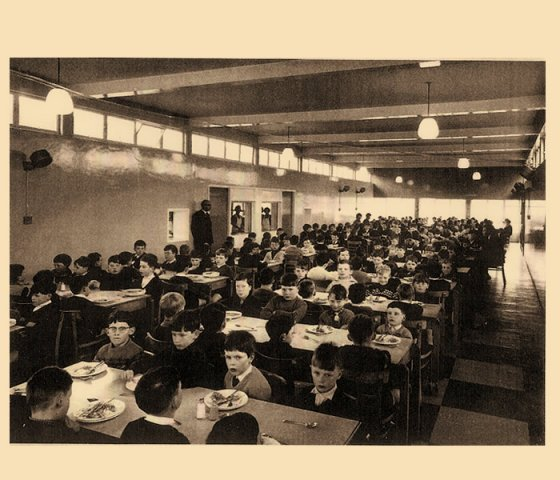 School Dining Hall April 1967