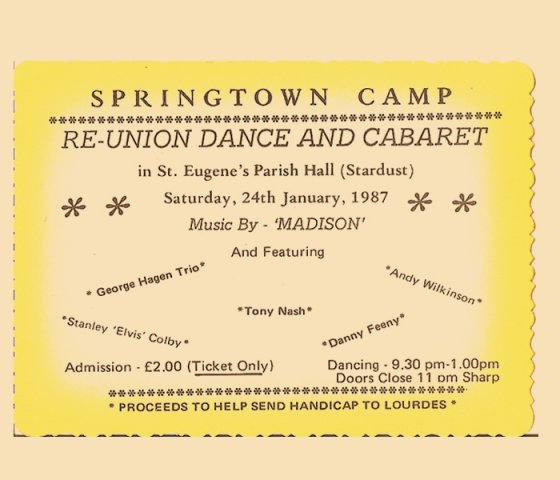 Springtown Camp Re-Union dance