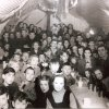 Halloween party at Belmont camp on 31 October 1946 included are Tommy Cooke,Eddie Kelly,Kevin Scanlon,Hugo Lewis,Minnie Lewis,Charlie Mc Monagle,Florrie Divin,Mona Mc monagle(with sonLornie),Jack Brennan,Wilfred Brennen,Charlie Carlin,S mc Glinchey
